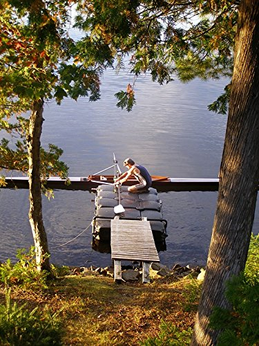 TED POSTER Scull Oar Rowing Boat Rower Single Lake Sculling Poster (Laminated Oar)
