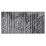 African Pathways Rectangle Tablecloth: Medium Dining Room Kitchen Woven Polyester Custom Print