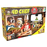Professor Maxwell's 628992010991 4D Chef Augmented Reality Science Kit (20Piece), Yellow