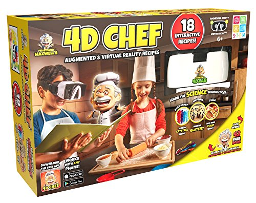 Professor Maxwell's 4D Augmented Reality Science Kit - CHEF