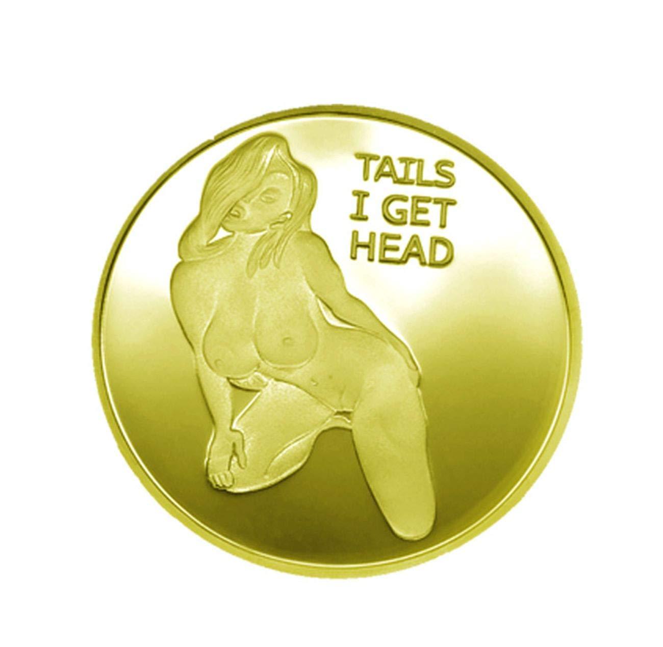 blinkee Sexy Stripper Good Luck Challenge Gold Coin