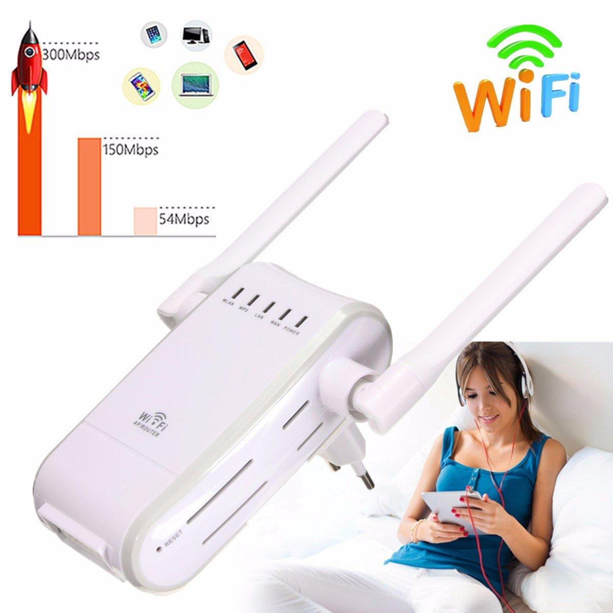 Netzwerk router, M.Way Mini-Router 300mbps kabellosen wifi 802.11 ...