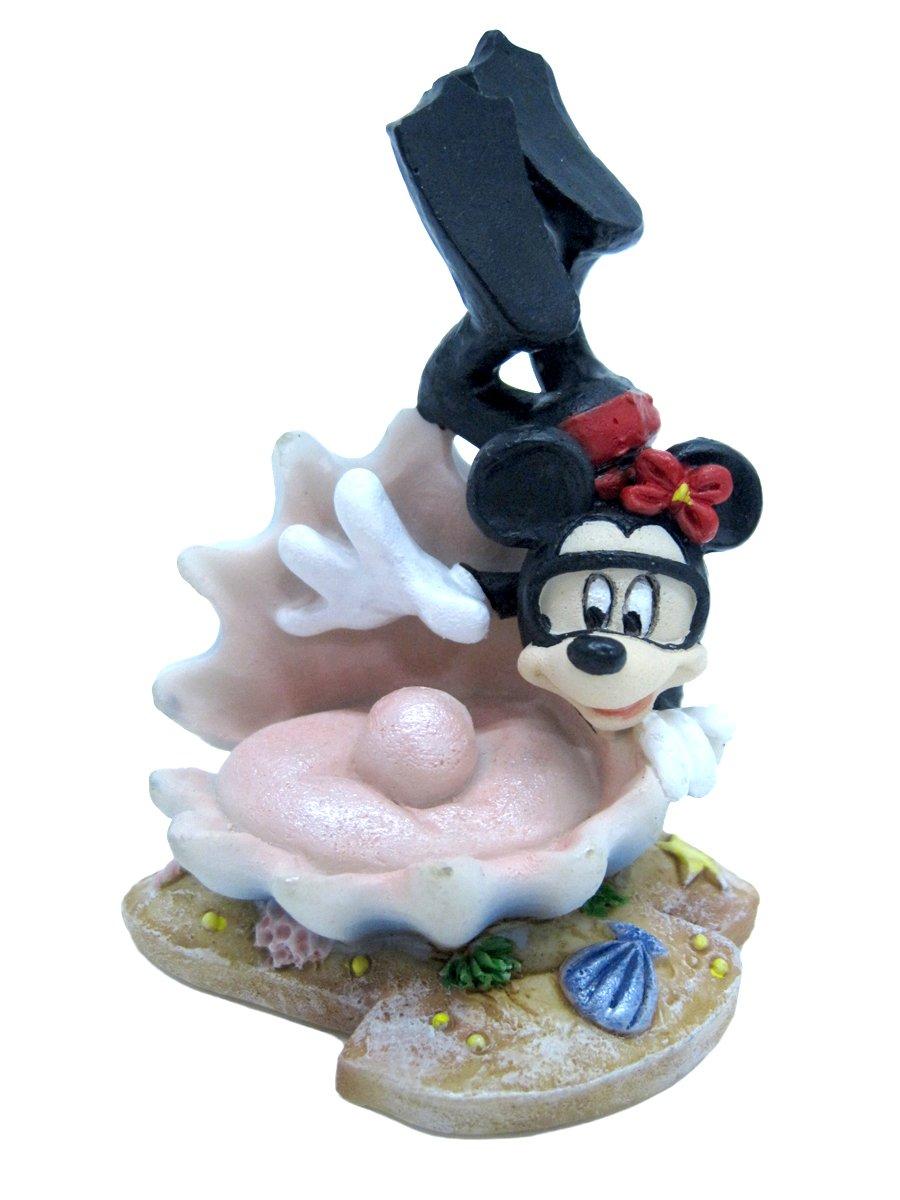 Disney Mickey Mouse Aquarium Ornament-Diving Minnie