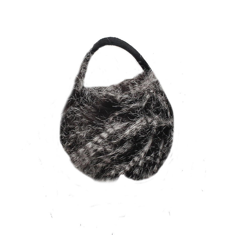 Accessoryo Women's Oversized Faux Fur Celebrity Style Winter Thermal Fashion Earmuffs