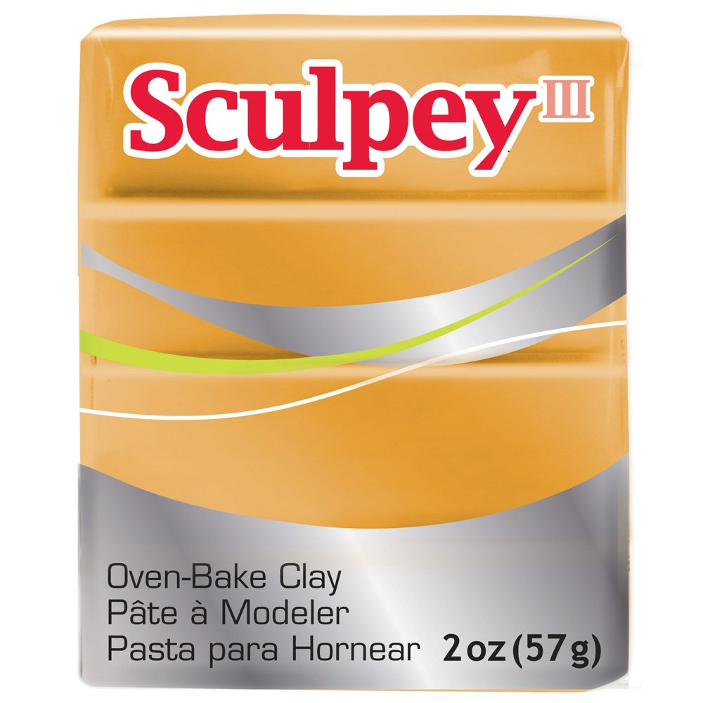 Sculpey III 2oz/ 56g (Chocolate) Polyform S302 053