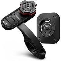 Spigen Gearlock Bike Phone Holder with Universal Adapter Out Front Bike Mount MF100 - Black