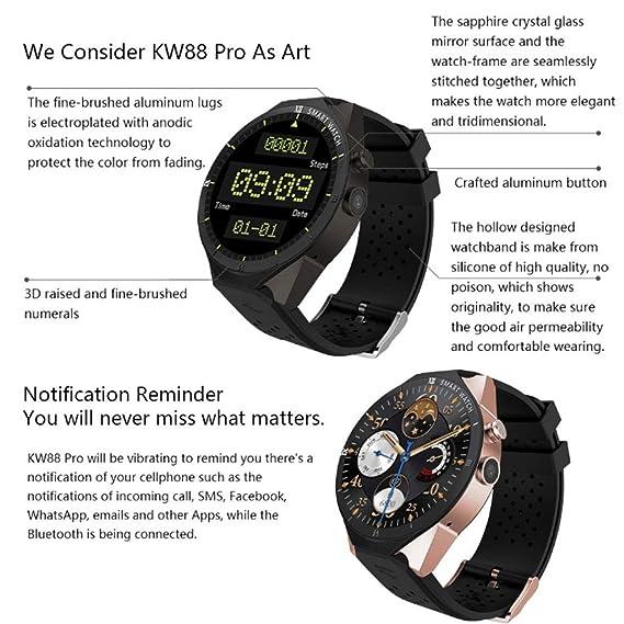 Amazon.com: HAOHAOWU Smart Watch, Fitness Tracker Smart ...