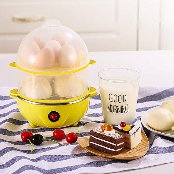 Hervidor de huevos de doble capa 110 V, calentador de huevos ...