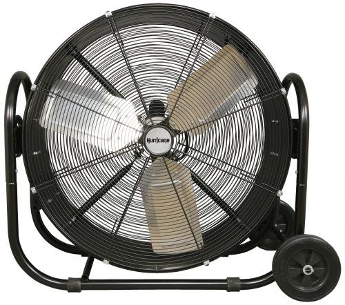 Hurricane Pro Heavy Duty Adjustable Tilt Drum Fan