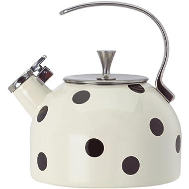 Kate Spade New York Deco Dot Black Tea Kettle