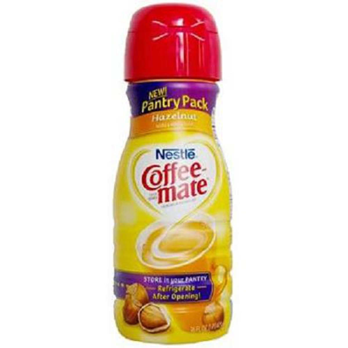 Product Of Nestle Coffee-Mate, Coffee Creamer Liquid - Hazelnut, Count 1 - Coffee Creamer / Grab Varieties & Flavors