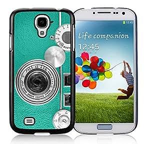 BINGO best quality Teal Retro Vintage Phone Samsung Galaxy S4 i9500 Case Black Cover