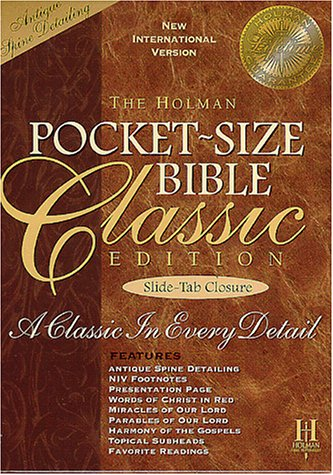 The Broadman & Holman Pocket-Size Bible: New International Version, Classic Edition, British Tan Bonded - Leather Bonded British Tan