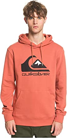 TALLA L. Quiksilver Comp Logo Sr Sudadera con Capucha Hombre