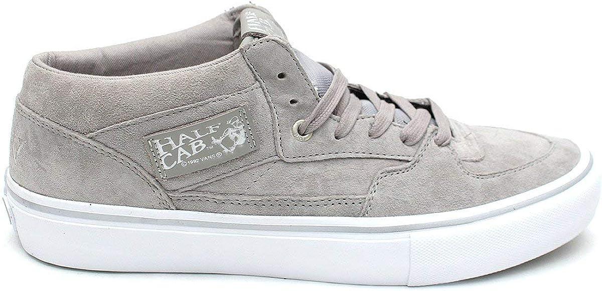 Vans Men's Half Cab Pro Ankle High Suede Skateboarding Shoe
