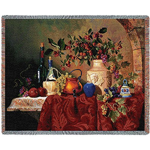 Pure Country Weavers Floral Tapestry (Pure Country Inc. Tavola Di Capri Blanket Tapestry Throw)