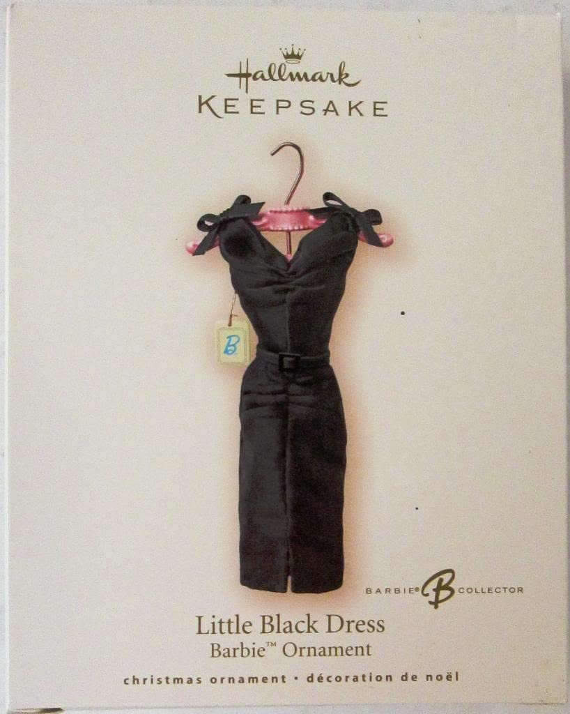 Amazon Com Hallmark Keepsake Ornament 2007 Little Black Dress Home Kitchen
