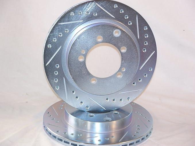 Front Brake Disc Rotors For 1991 1992 1993 DOGE STEALTH MITSUBISHI 3000GT VR4
