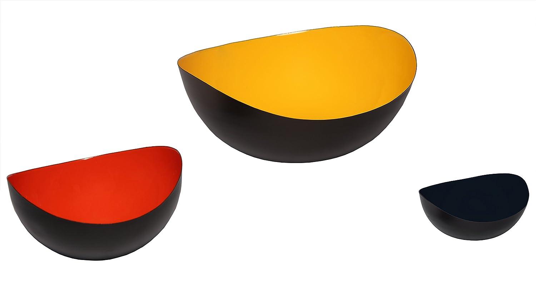 White Melange Home Decor Modern Collection 4-inch Wave Bowl Color
