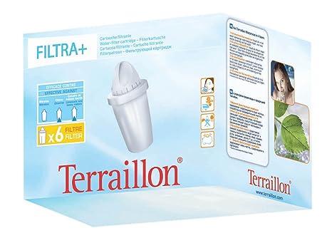 terraillon filtri  Terraillon 7932, Confezione 6 filtri FILTRA+: : Casa e cucina