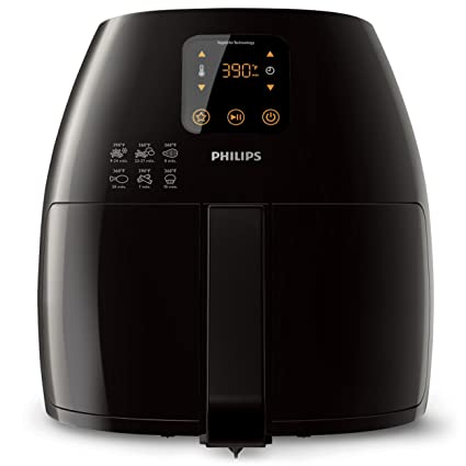 Philips Airfryer HD9240/90 Large Capacity with Digital Display, 1.2Kg