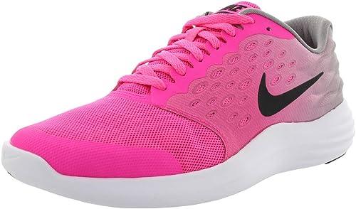 Nike Lunarstelos (GS), Zapatillas de Running para Mujer, Rosa (Pink Blast/Black-Stealth-White), 38 EU: Amazon.es: Zapatos y complementos