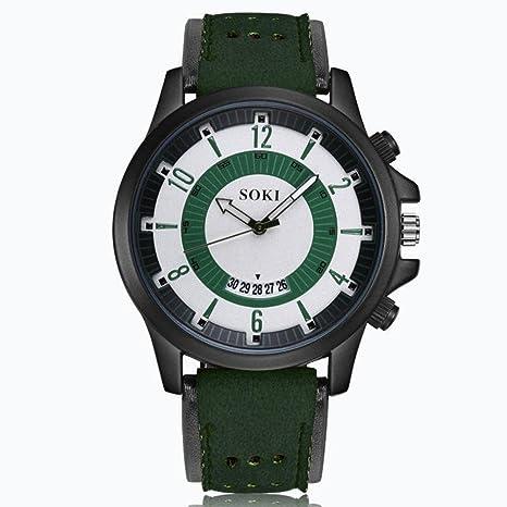 Amlaiworld Reloje Hombres Mujer relojes deportivos niños baratos Reloj de pulsera de cuarzo de