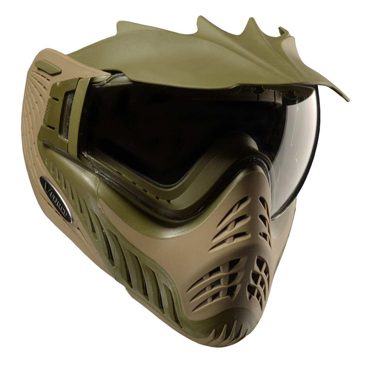VForceプロファイラThermal Paintball Goggleマスク B002XF05LY Dual Olive Drab/Tan Dual Olive Drab/Tan