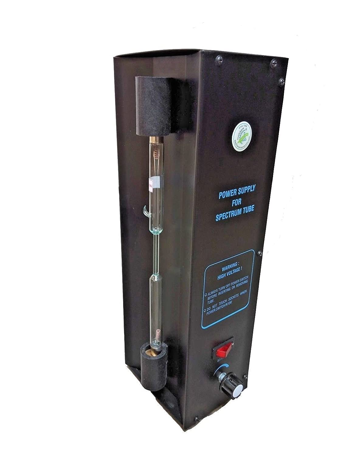 Spectrum Discharge Tube with Power Supply, Set of 18 Full Spectral Analysis: Amazon.com: Industrial & Scientific