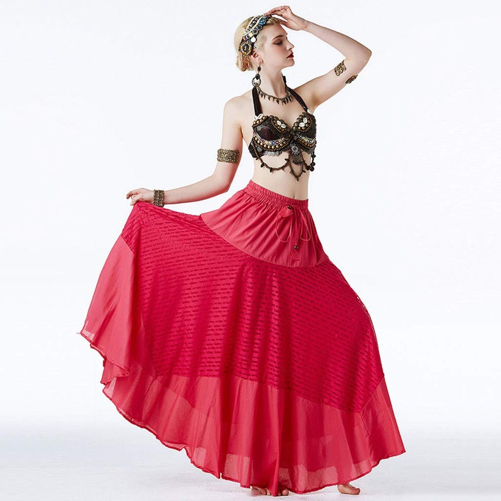 絶対一番安い ベリーダンス衣装部族の風パフォーマンスセット女性の古典的な民族舞踊のドレススリーピースセット L B07P6WPCGQ L l|ローズレッド L ローズレッド B07P6WPCGQ L l, スズキゴルフオンライン:61335980 --- a0267596.xsph.ru