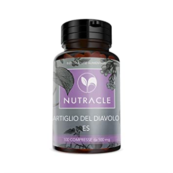 NUTRACLE Garra del Diablo Tabletas a base de extracto seco de ...