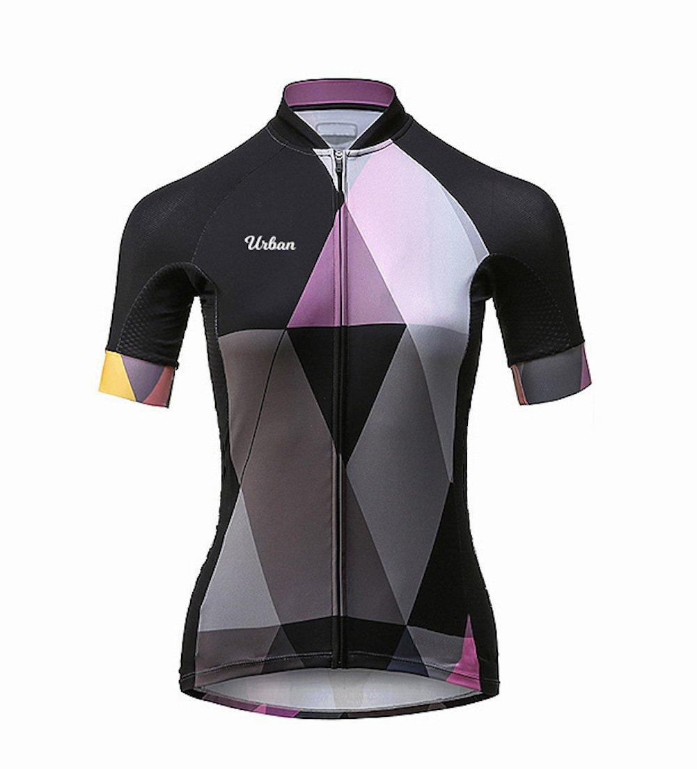 The Duchess - Women's Short Sleeve Jersey, Shorts, or Kit Set (X-Large, Short Sleeve Jersey Only) by Urban Cycling Apparel