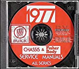 1977 Buick Repair Shop Manual & Body Manual CD-ROM