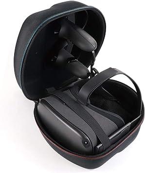 Carplink EVA Estuche para Oculus Quest Todo-en-uno VR Gaming Headset Estuche Protector Estuche portátil Mini Estuche con Bolso de Malla: Amazon.es: Electrónica
