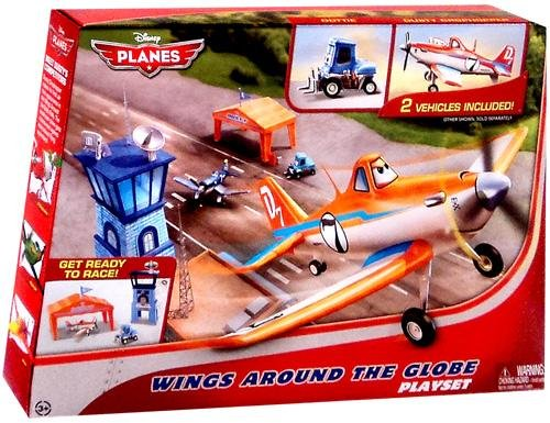 Disney PLANES Playset Wings Around the Globe by Unknown (Dusty Crophopper Costume)