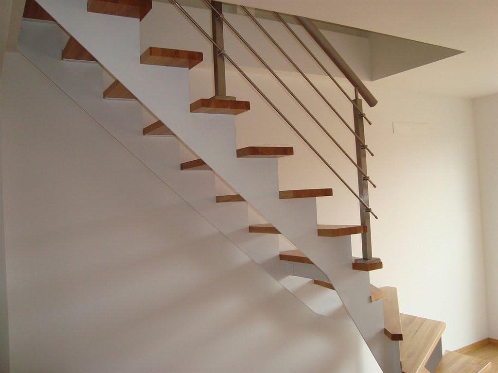 Detalles a mano unidad Escaleras barandilla brüstung Escaleras montar Acero Inoxidable Base Montaje 6 m: Amazon.es: Bricolaje y herramientas
