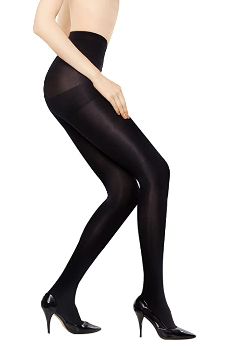 MD 8-15mmHg Women's Comfy Compression Pantyhose Medical Quality Ladies Support Stocking Blacks