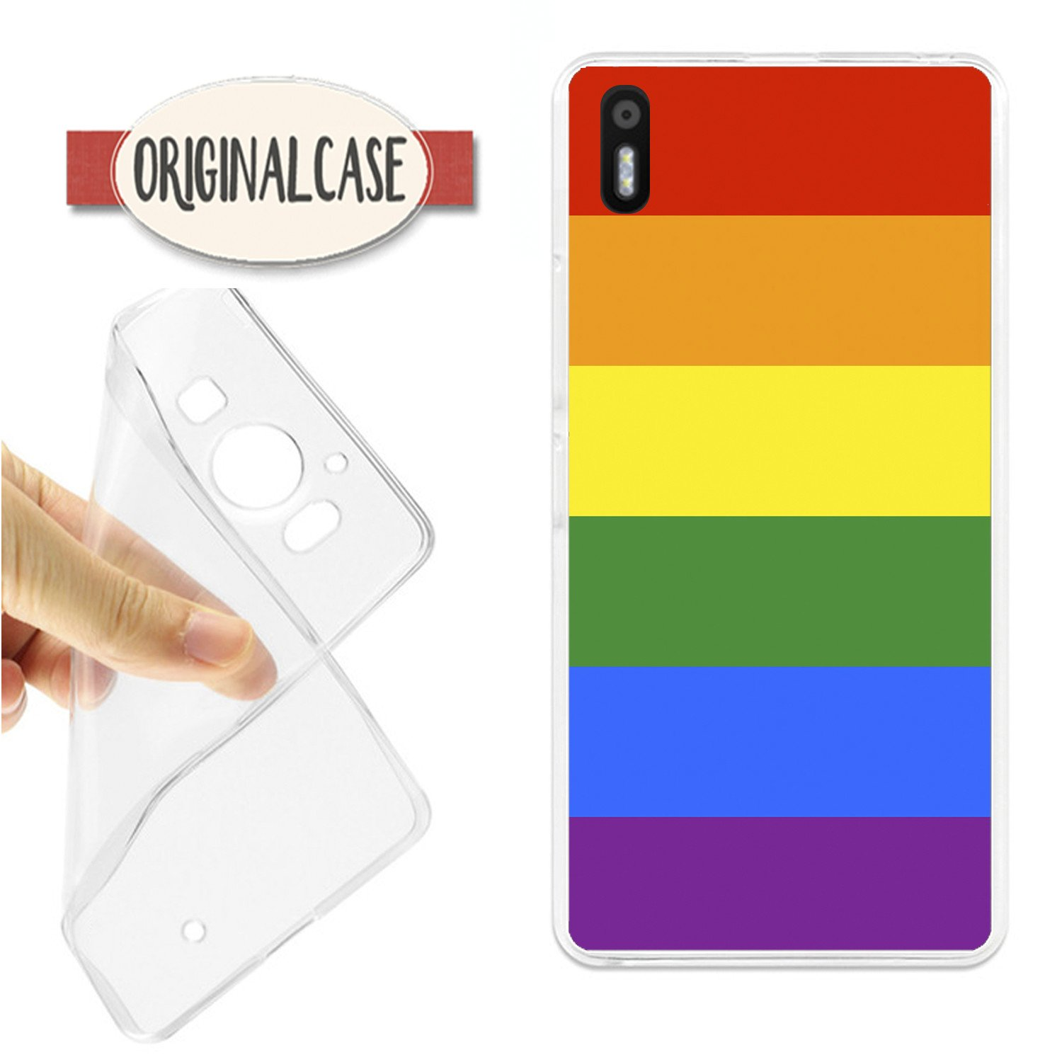 Funda Carcasa Bandera Gay Multicolor Homosexual K206 BQ U ...
