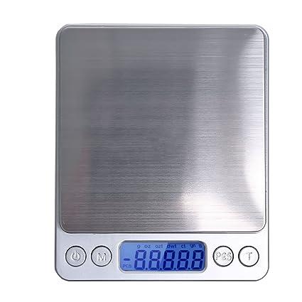 Apgstore 500 g/0,01 Digital Báscula Báscula portátil Báscula de Cocina Industrial para