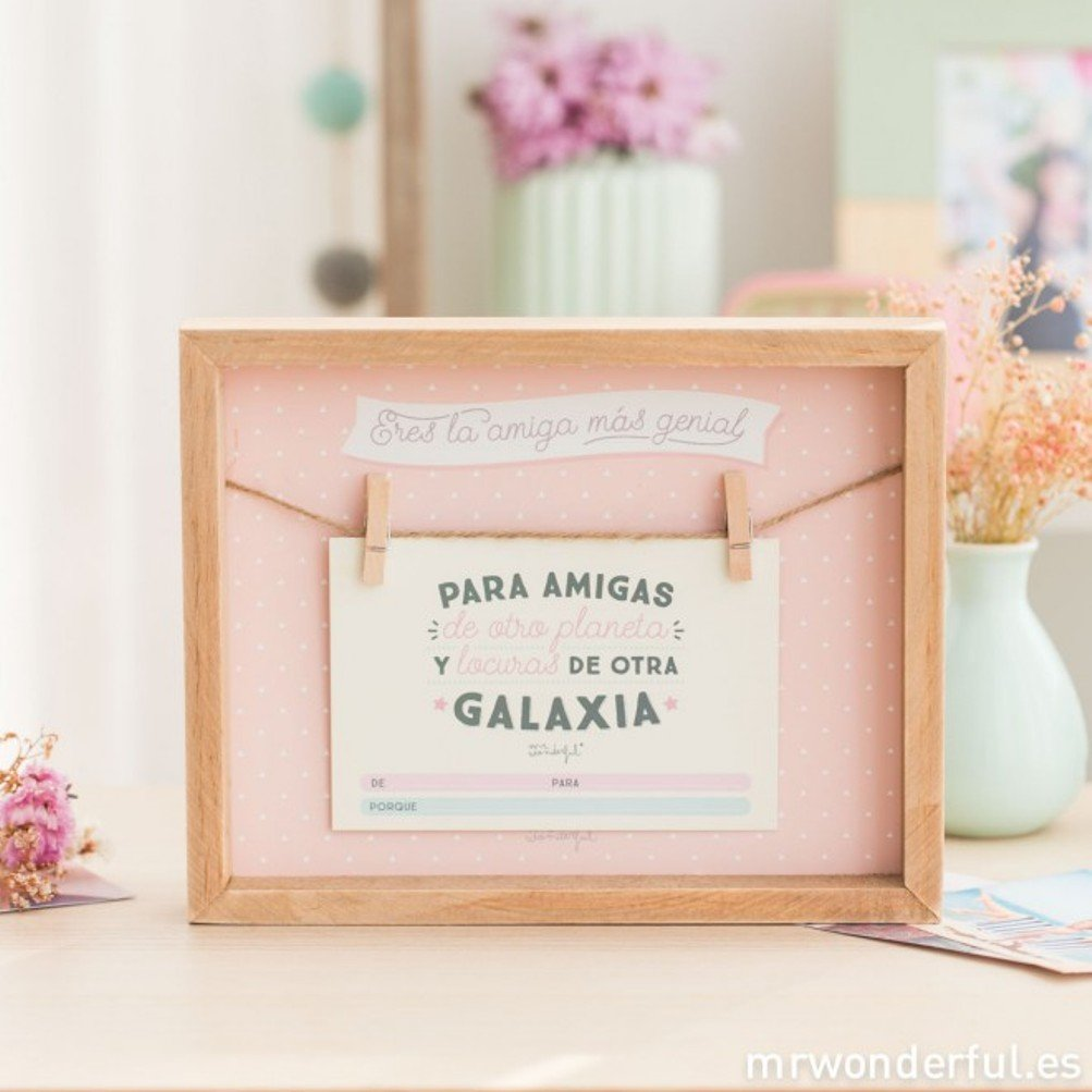 Mr Wonderful Photo Frame Youre The Most Cool Friend