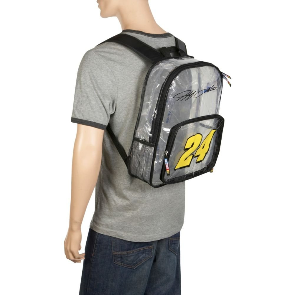 Jeff Gordon Clear Backpack