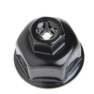 sugeryy 14 Pezzi Universale Auto Filtro Olio Chiave Tappo Auto Strumento di rimozione alloggiamento Filtro Tappo 4 cilindri Antiscivolo Utensili