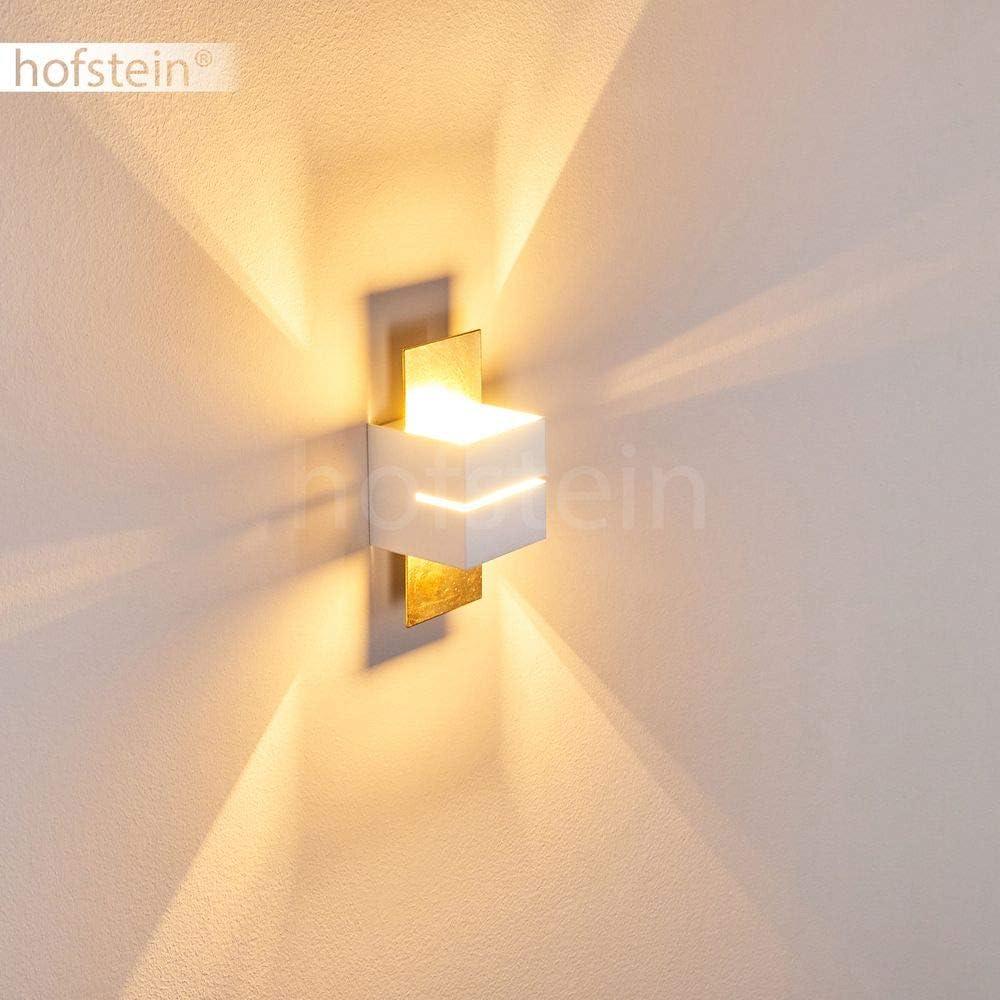 compatible ampoules LED classe /énerg/étique C 1 ampoule G9 effet Up /& Down sur le mur 28 Watt Applique murale Tora en m/étal noir avec interrupteur int/égr/é incluse