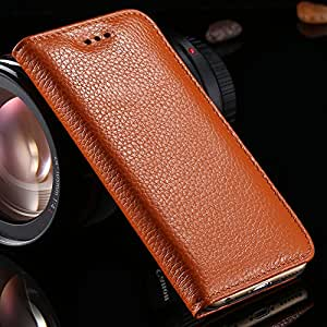 for iphone6 Retro Luxury Stand Case Elegant Lychee Insivible Magnetic Flip for Apple iphone 6 4.7 Genuine Leather Cover --- Color:dark green