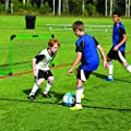 "Franklin Sports 3' Insta Soccer Goal Set, Neon Green, 36"" x 24"" x 24"""