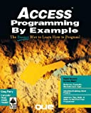 Access Programming by Example, Greg M. Perry, 1565293053