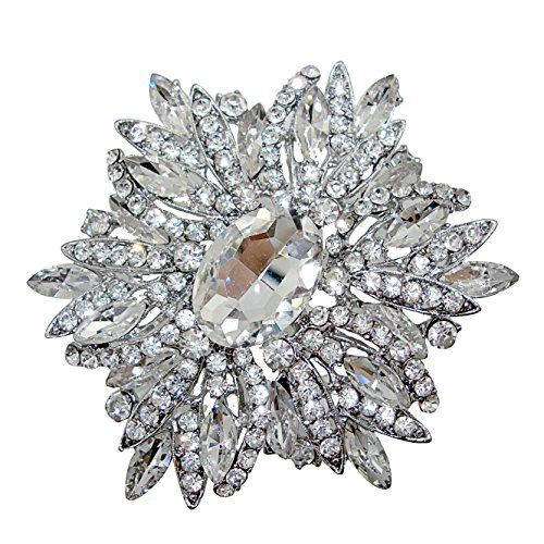 Large Flower Pin - TTjewelry 3.82