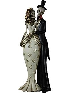 Til Death Do Us Part Gothic Skeleton Wedding Ornament