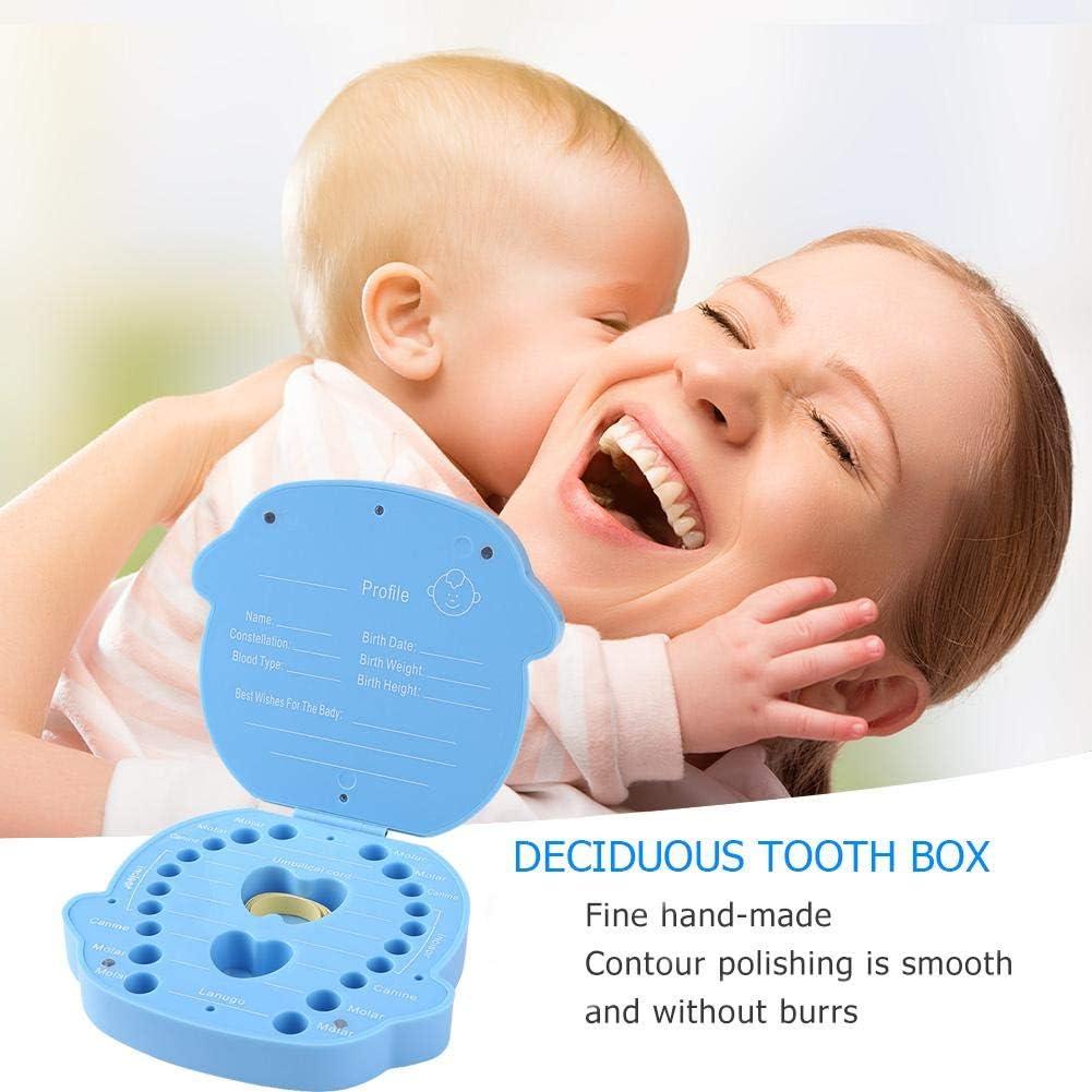 Occitop Baby Plastic Deciduous Tooth Box Souvenir Creative Baby Tooth Organizer Box