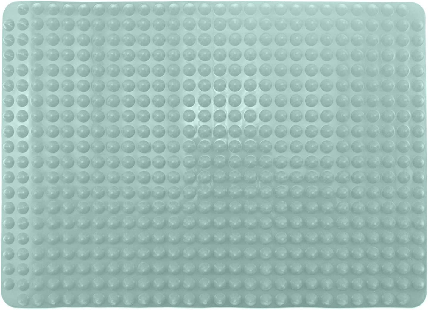 """EHZ Silicone Baking Mat Non Stick Oven Baking Tray Mat Food Safe Oven Protector Liner for Toaster Oven, Sheets, Trays, Pans, Baking, Cooking - 16"""" x 11.4"""" (Aqua)"""